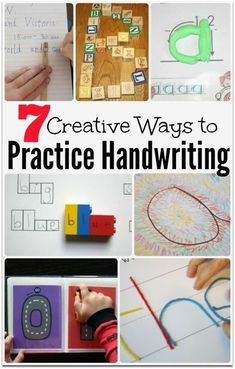 7 Creative Ways to Practice Handwriting | This Reading Mama