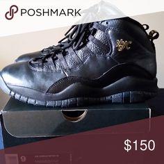 Retro Jordan 10 NYC Worn 2 times Jordan Shoes Sneakers