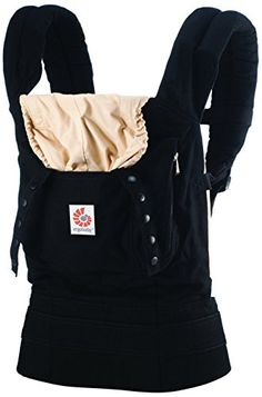 Ergobaby Original Baby Carrier – Black/Camel – One Size