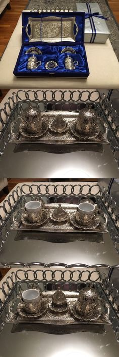 Cups and Saucers 36029: Gift Turkish Coffee Set, Box Already Packaged. -> BUY IT NOW ONLY: $45 on eBay!
