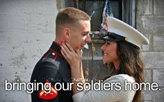 They all deserve a homecoming worthy of a Hero and a Warrior.  Support our Military.