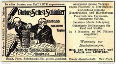 Original-Werbung/ Anzeige 1897 - GLOBUS SELBST-SCHÄNKER /DEUTSCHE SIPHON GESELLSCHAFT RÖSLER - LEIPZIG  - ca. 90 x 50 mm