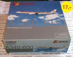"""Ich biete hier mehrere Modelle in Bestzustand aus meiner Flugzeug Sammlung Maßstab 1:400 zum Direktkauf bei mir Zuhause an.z.B. DRAGON Flugzeugmodell im Maßstab 1:400:Airbus A 40 600Airline: """"IBERIA""""Preis nur 17,- €Preis bezieht sich nur auf Bild 1.Bestzustand in Originalverpackung. Schachtel wurde nur zur Begutachtung geöffnet.Bei Versand in Deutschland  4,- €. International für 6,20 € als eingeschriebener Auslands-Maxibrief.Sehen sie sich auch meine weiteren Modell Angebote an.Preise auf…"""