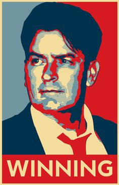 Charlie Sheen for Vice President!!!!                  X o
