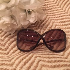 640b60a2203 Tom Ford Whitney sunglasses As seen on Angelina Jolie and Jennifer Aniston!  Brown
