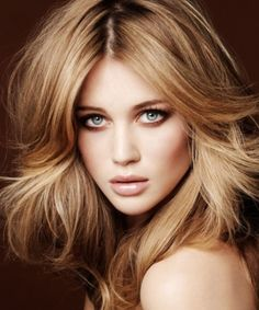 best hair color for green eyes and warm skin tone - Google Search