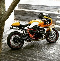 BMW R nine t custom Cafe Racer