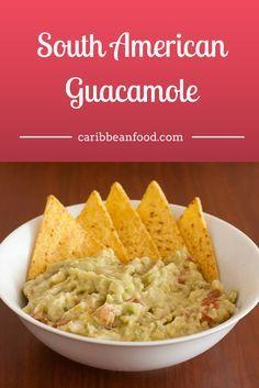 South American Guacamole Caribbean Food