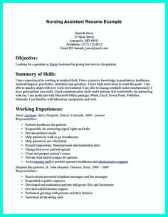 Cna Resume Objective Statement Examples Best Simple Cover Letter For Certified Nursing Assistant Cna Resume .