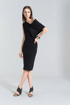 Pencil Dress / Party Dress / Midi Dress / Off Shoulder Dress / Cocktail Dress / Shift Dress / Sleeveless Dress / marcellamoda - MD099 by marcellamoda on Etsy https://www.etsy.com/listing/212434146/pencil-dress-party-dress-midi-dress-off