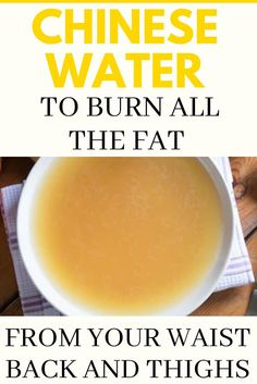 Below is a Chinese Water To Burn All The Fat From Your Waist, Back And Thighs! This is a safe and fast fat burning home remedy that y. Easy Healthy Recipes, Diet Recipes, Vegetarian Recipes, Flat Belly Challenge, Flat Belly Diet, Fat Burning Drinks, Liquid Diet, Calorie Diet, Weight Loss