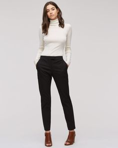 Block Jacquard Trousers