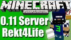 Minecraft PE 0.11.1 Server Tour - Rekt4Life
