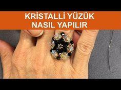 Kristalli yüzük nasıl yapılır - YouTube