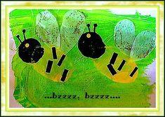 Peinture abeilles