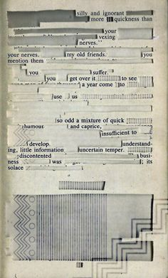 "Hypertext of the first pages of ""Pride and Prejudice"" Book Design, Cover Design, The Library Of Babel, Found Poem, Roman, Visual Communication, Material Design, Data Visualization, Magazine Design"