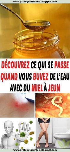 Découvrez ce qui se passe quand vous buvez de l'eau avec du miel à jeun Juice, Allah, Fitness, Honey, Drinking Water, Natural Remedies, Vinegar, Juice Fast, God