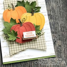 Fall Cards, Holiday Cards, Christmas Cards, Pumpkin Cards, Stamping Up Cards, Rubber Stamping, Thanksgiving Cards, Autumn Theme, Halloween Cards