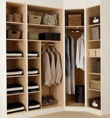 corner wardrobe solutions.