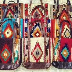 Western Store, Western Chic, Mode Country, Country Girls, Navajo, Ethno Style, Saddle Blanket, Western Purses, Carpet Bag