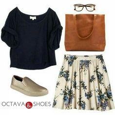 Nuevo look! Que te parece?? #OctavaShoes #YoAmoLosZapatos #summer #fashionlook #zapatos http://ift.tt/2rbJK3Y