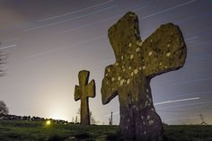 The Stone Crosses of Tjora - These two stone crosses date from approximately 1150AD.  They were erected before churches were built and used as a gathering place for religious services.