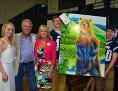 "Loyola Sacred Heart Foundation Original Art Donation of ""The Zookeeper"" by Teshia"