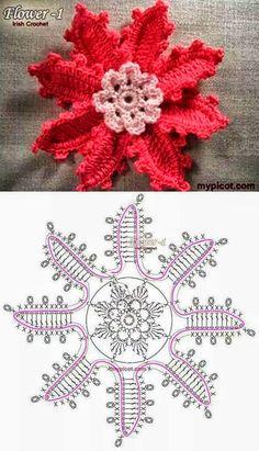 Best 12 Best 12 Lovely crocheted flower on a Japanese site – SkillOfKing.Com – SkillOfKing.Com Best 12 Best 12 Lovely crocheted flower on a Japanese site – SkillOfKing.Com – SkillOfKing. Marque-pages Au Crochet, Crochet Motifs, Crochet Pillow, Freeform Crochet, Crochet Stitches, Irish Crochet Patterns, Crochet Designs, Crochet Flower Tutorial, Crochet Flowers