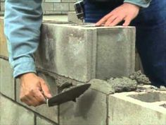 Building a Concrete Block Foundation - Bob Vila Things I will pay others to do