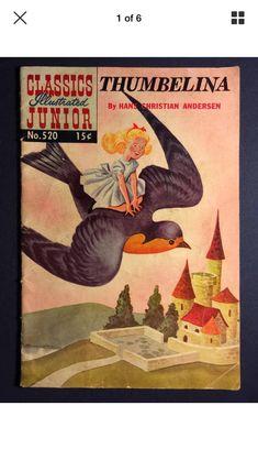 Canadiancollectors Classics Illustrated Junior Thumbelina 1955 Release 3023