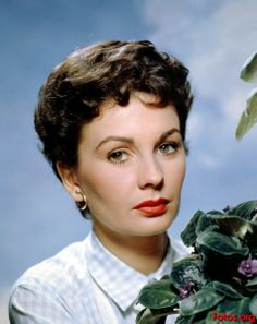 JEAN SIMMONS ~ Born Jan. 1929, Crouch Hill, London, England. Married: Stewart Granger [1950-60]; Richard Brooks [1960-1977]. Children: 2 ~ Tracy Granger; Kate Brooks. Movies: Spartacus; The Big Countrry; The Robe; Elmer Gantry; Guys & Dolls; Young Bess; Home Before Dark; and many more. TV: Murder She Wrote; The Thorn Birds/series. Awards: Golden Globe ~ 1956 -Guys & Dolls. Emmy: The Thorn Birds. Died: Jan. 2010 in Santa Monica, CA [lung cancer]. Age 81.