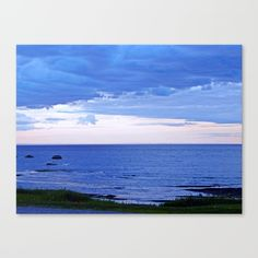 New, Cloudy Skies Over the River  https://society6.com/product/blue-on-blue-at-the-river-mouth_stretched-canvas?curator=danbytheseacurator This photo is Available on over 20 products  Follow DanByTheSea  https://society6.com/danbythesea #society6 #danbythesea