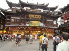 Shanghai Yu Garden Market Building
