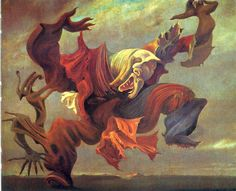 The Angel of the home or the Triumph of Surrealism, 1937 Max Ernst