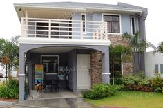 Eye catching 2 storey house plans philippines filipino simple two dream home l usual design ideas Two Story House Design, 2 Storey House Design, Two Storey House, Simple House Design, Dream Home Design, Home Design Plans, Home Interior Design, Exterior Design, Filipino House