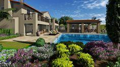 AMS Landscape Design Studios, Inc. Balcony & Structure Concept