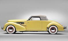 1937 Cord 812 SC Sportsman Convertible Coupe Petit: yes, please :)