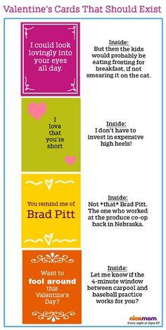 If Valentine's Day Cards Were Honest