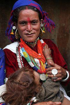Thakuri woman, Nepal