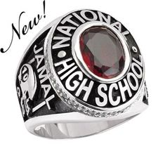 Tribute Class Ring makes an great gift for a Homeschooled Boy