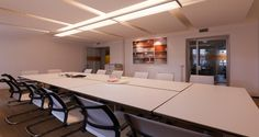 Meeting room into the premises of Mastercard in Rome, Italy