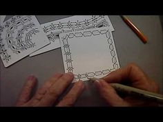 XYP Tangle Pattern Lesson #56 - YouTube
