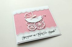 Baby Cards, Cardmaking, Scrapbooking, Paper, Pink, Scrapbooks, Pink Hair, Memory Books, Roses