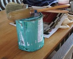 Introduction to Chalk Paint - Workshop - Annie Sloan - Provence Annie Sloan Provence, Woman Painting, Chalk Paint, Restoration, Workshop, Water Bottle, Atelier, Work Shop Garage, Water Bottles
