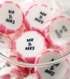 Rocks Bonbons Gastgeschenke Hochzeit Mr Mrs