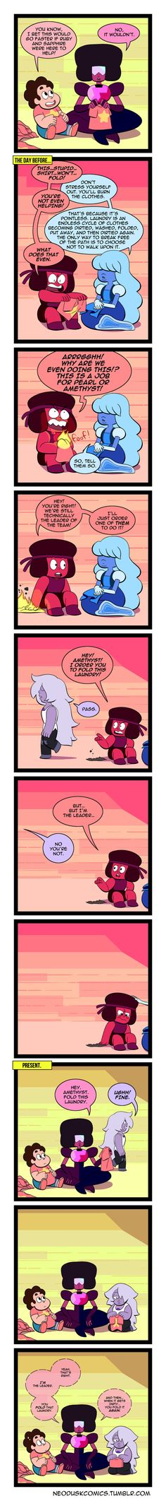 Steven Universe: One Head is Better Than Two by Neodusk