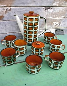 Vintage Boch Coffee set
