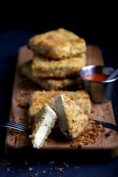 Olives for Dinner | Recipes for the Ethical Vegan: Super-Versatile Crispy Tofu Cutlets