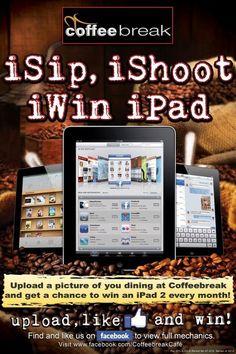 Coffeebreak iSip, iShoot, iWin iPad Promo