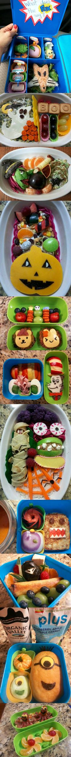 Here are some of the most creative and healthiest school lunches to hit the internet.